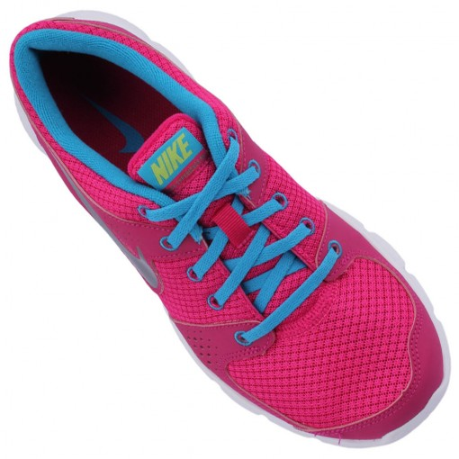 Tênis Nike Flex Experience RN Feminino Pink Branco Azul C'u 525754-600