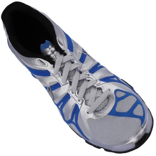 Tênis Nike Shox Turbo+ 13 Masculino Prata Azul Preto 525155-003
