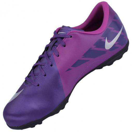ac9d10c1c5566 Chuteira Society Nike Mercurial Victory 2 TF Juvenil Laranja Preto ...