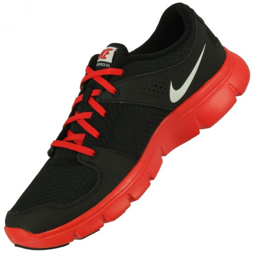 Tênis Nike Flex Experience RN Masculino Preto Vermelho Branco