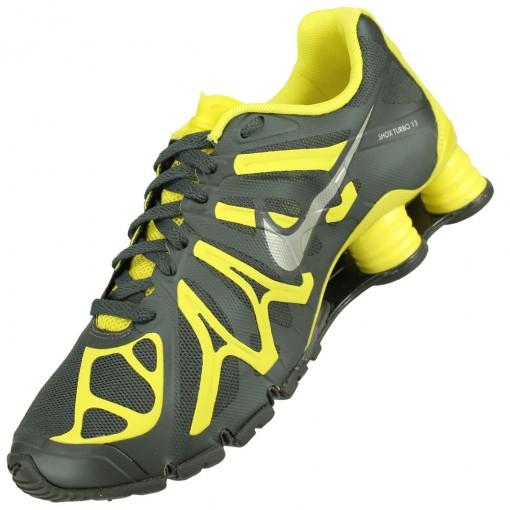 Tênis Nike Shox Turbo+ 13 Masculino Chumbo Amarelo