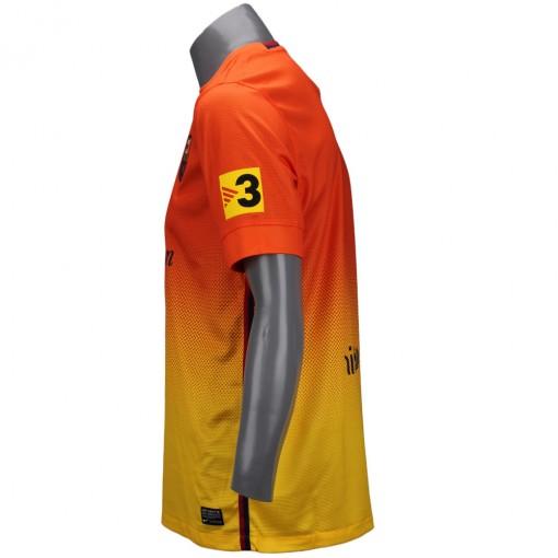 Camisa Nike Torcedor Barcelona 2013  Sem Número Manga Curta