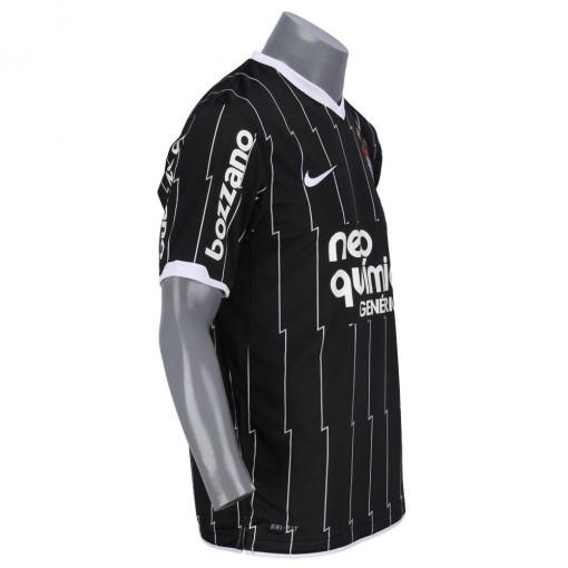 Camisa Nike Corinthians II 2011  Sem Número Manga Curta    409276-010