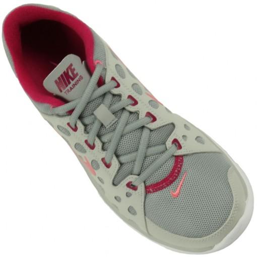 Tênis Nike Flex Supreme TR Feminino Cinza Rosa Claro Pink