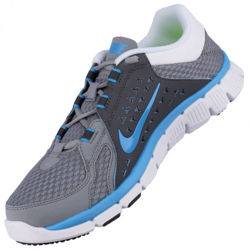 Tênis Nike Flex Supreme TR Masculino Cinza Azul C'u Branco 525730-005
