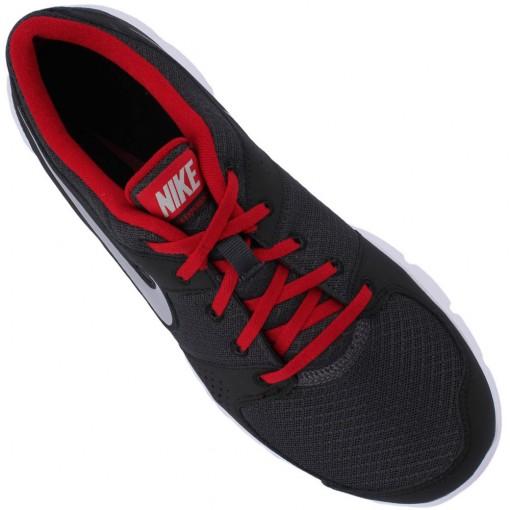 Tênis Nike Flex Experience RN Masculino Chumbo Vermelho Branco 525762-007
