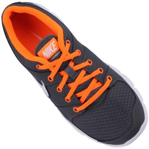 Tênis Nike Flex Experience RN Masculino Cinza Branco Laranja 525762-003