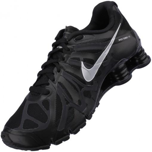 Tênis Nike Shox Turbo+ 13 Masculino Preto Branco 525155-001