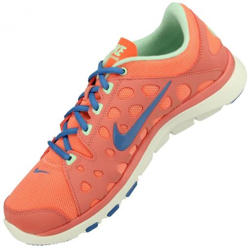 Tênis Nike Flex Supreme TR Feminino Rosa Claro Azul Verde Claro