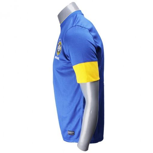 Camisa Nike Torcedor Seleção Brasil II 2012  Sem Número Manga Curta   447936-493