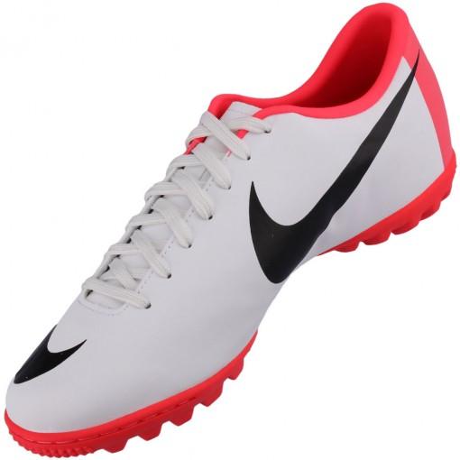 34f4543e147a4 Chuteira Society Nike Mercurial Victory 3 TF Masculino Branco ...