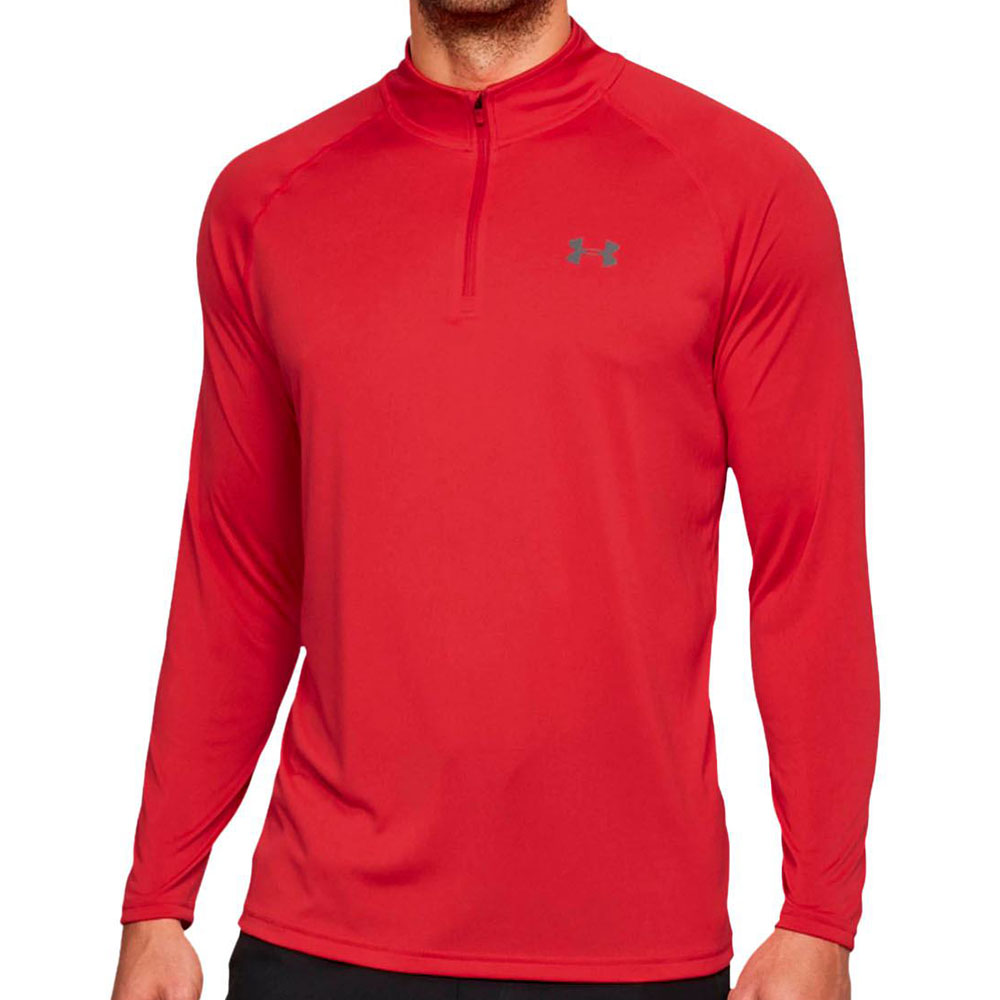 4ec6ae7434 Blusão Under Armour 1 4 Zíper Tech Manga Longa