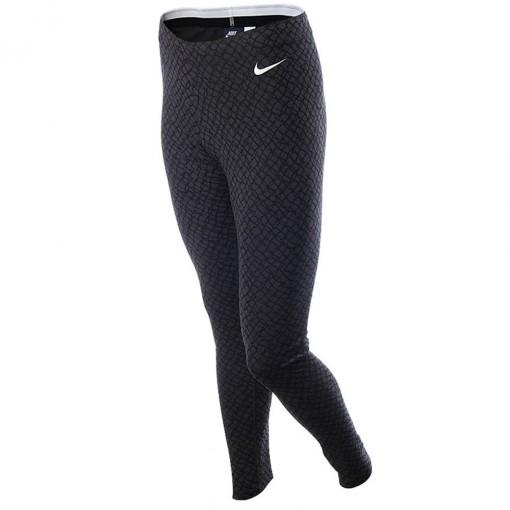Calca Legging Nike Club Aop Feminino Preto