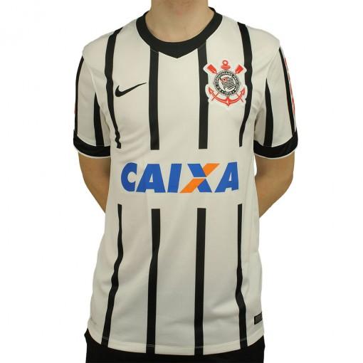 Camisa Nike Corinthians I 2014 Torcedor