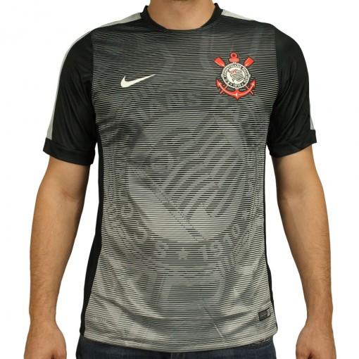 Camisa Nike Corinthians Pré Jogo 2015