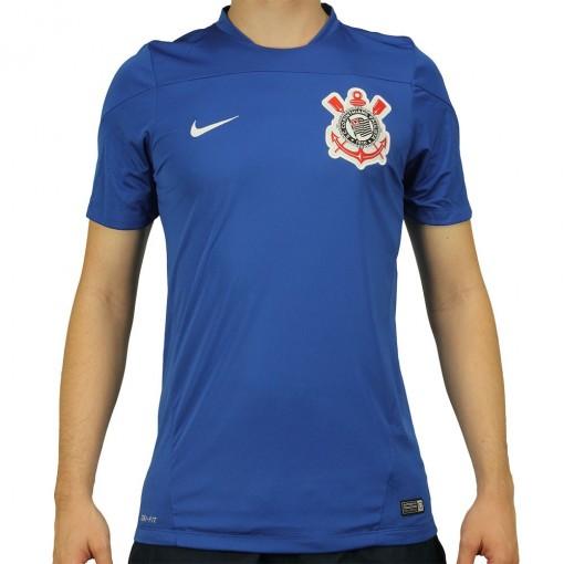 Camisa Nike Corinthians Treino 2014 25509d3a18ea9
