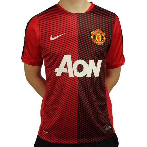 Camisa Nike Manchester United Pre Match 2014/2015