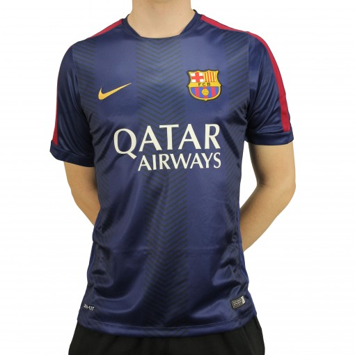 Camisa Nike Barcelona Pre Match 2014