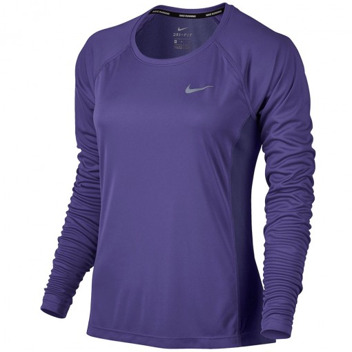Camiseta Nike Manga Longa Dry Miler Top
