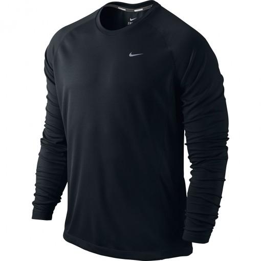 Camiseta Nike Miler LS UV Team Manga Longa