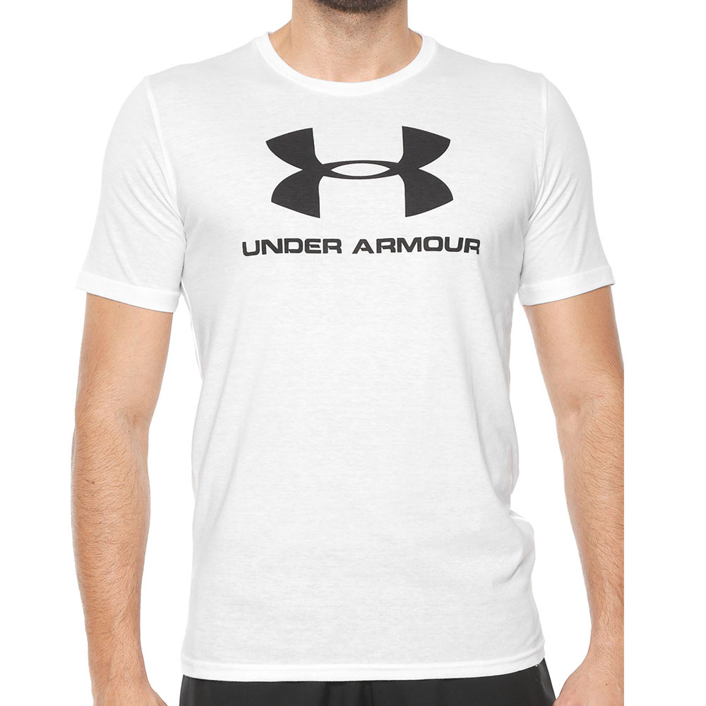 Camiseta Under Armour 8000002 Esportiva Logo Masculina