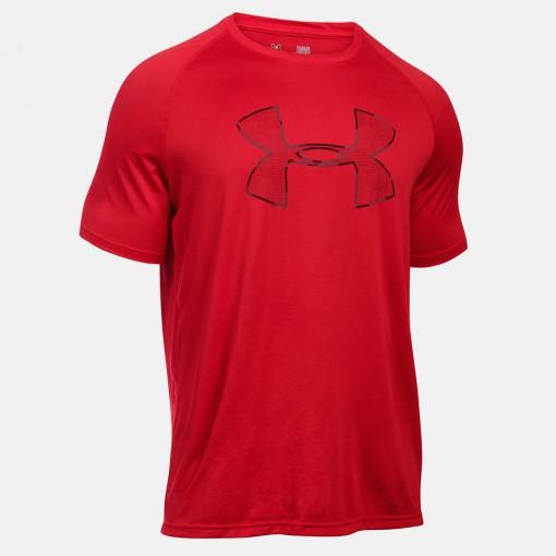 Camiseta Under Armour Tech Camo Big Logo SS