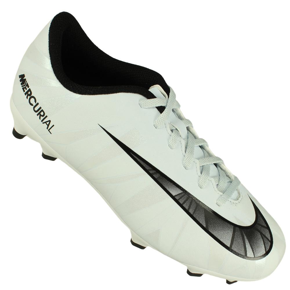 Chuteira Campo Nike Mercurial Vortex III CR7 Juvenil 1e059d0f13e2a