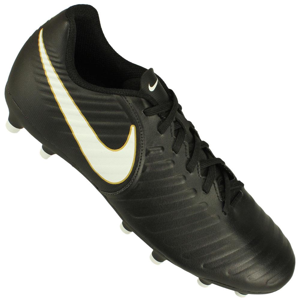 782adbe2af Chuteira Campo Nike Tiempo Rio IV FG