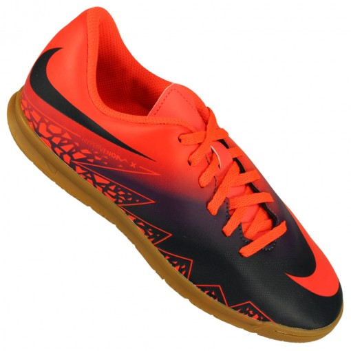 Chuteira Futsal Nike Hypervenom Phade ii ic Masc v ccb376e9f65da