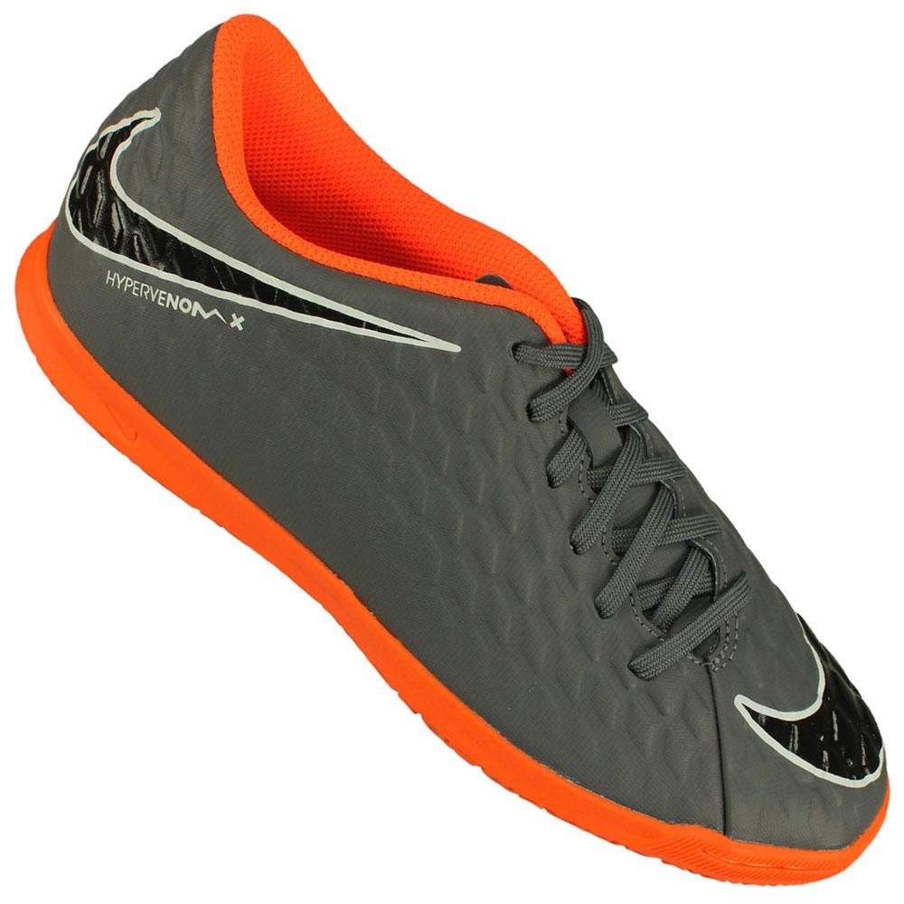 5de4f66faa9ac Chuteira Futsal Nike Hypervenom Phantom 3 Juvenil