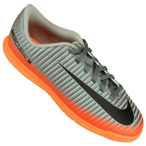 263669db86 Chuteira Futsal Nike Mercurial Vortex III CR7 Juvenil