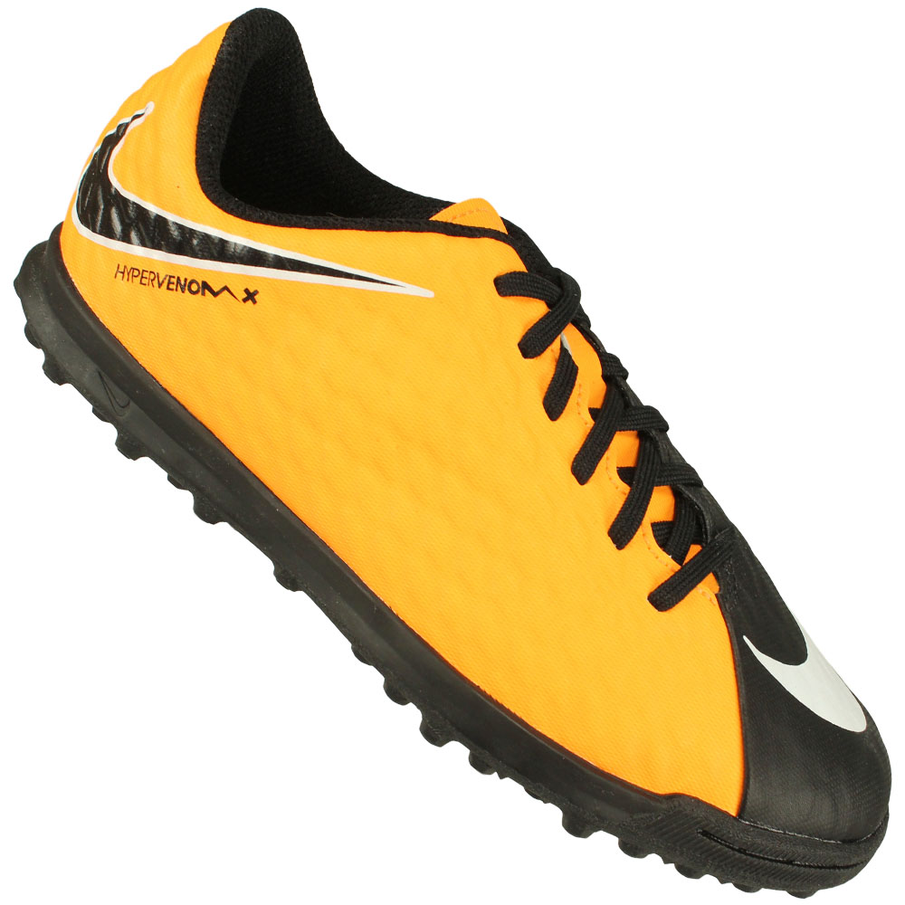 87c0c0b6c6144 Chuteira Society Nike Hypervenom Phade III Tf Juvenil