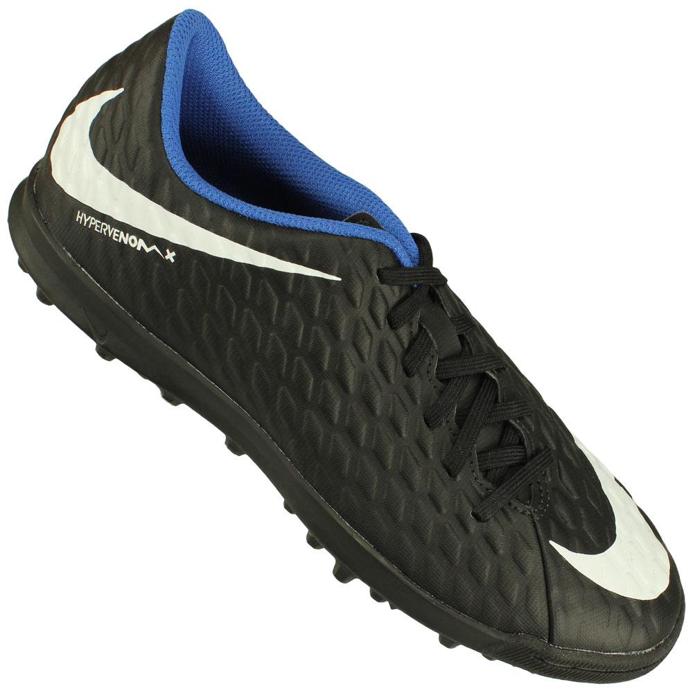 Chuteira Society Nike Hypervenomx Phade III TF 139a6b901c94e