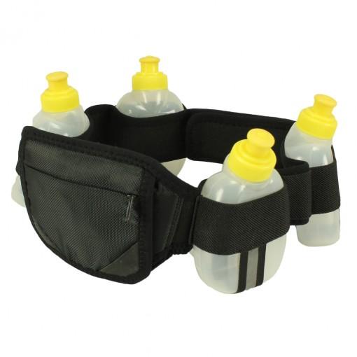 Cinto Hidrolight Hidratação 4 Mini Garrafa Elastic