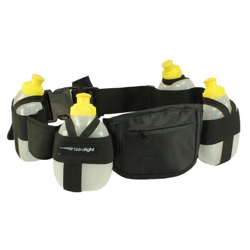 Cinto Hidrolight Hidratação 4 Mini Garrafa Nylon