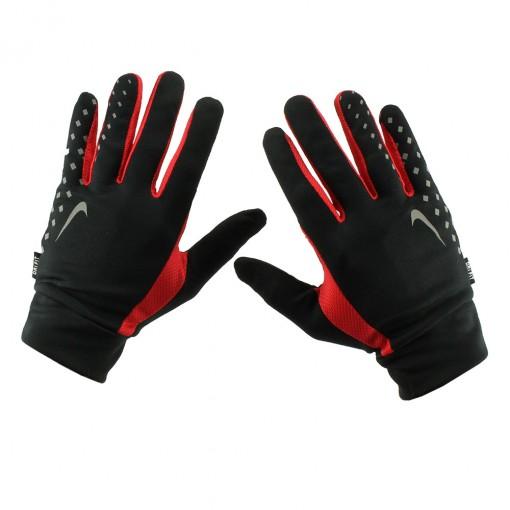 Luvas de Corrida Nike Men´s LW Run Gloves C/ Suporte para Chave.