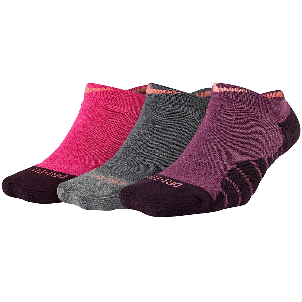Kit 3 Meias Nike Cano Invisivel Dry Cushion No Show