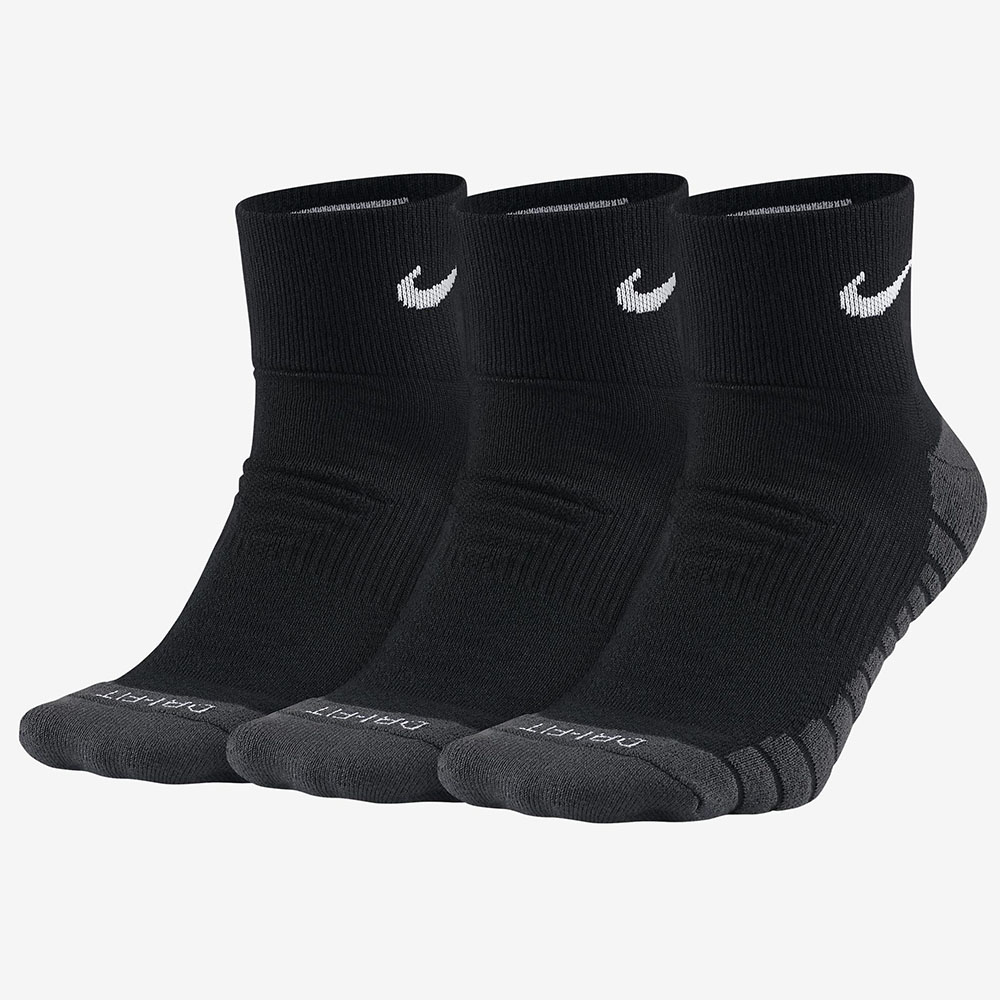 Kit 3 Meias Nike Cano Medio Dry Cushion
