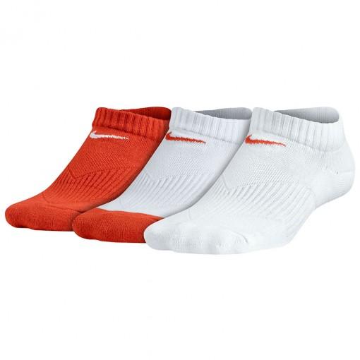 Kit 3 Meias Nike Yth Cotton Cushion No-Show