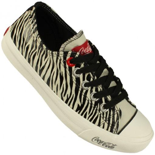 Tênis Coca-Cola Shoes Basket Low Tag