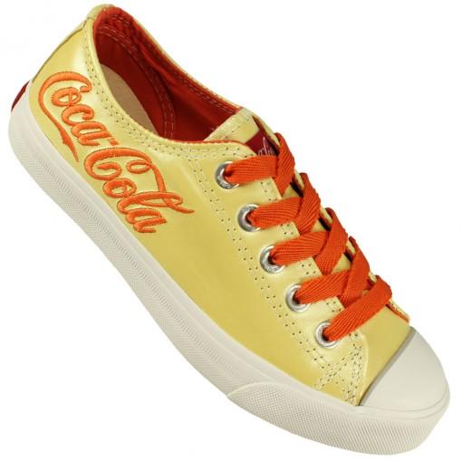 Tênis Coca-Cola Shoes New Leather Low