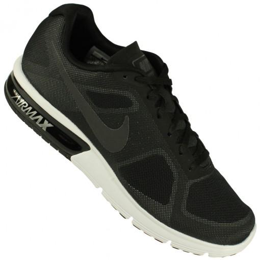 Tenis Nike Air Max Sequent Masculino Cinza Preto