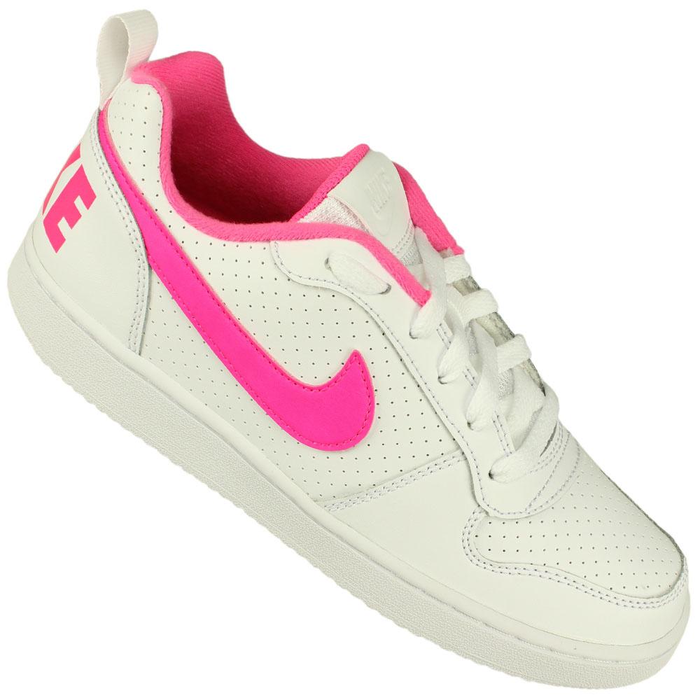 6279b98ea32 Tênis Nike Court Borough Low Gs Juvenil