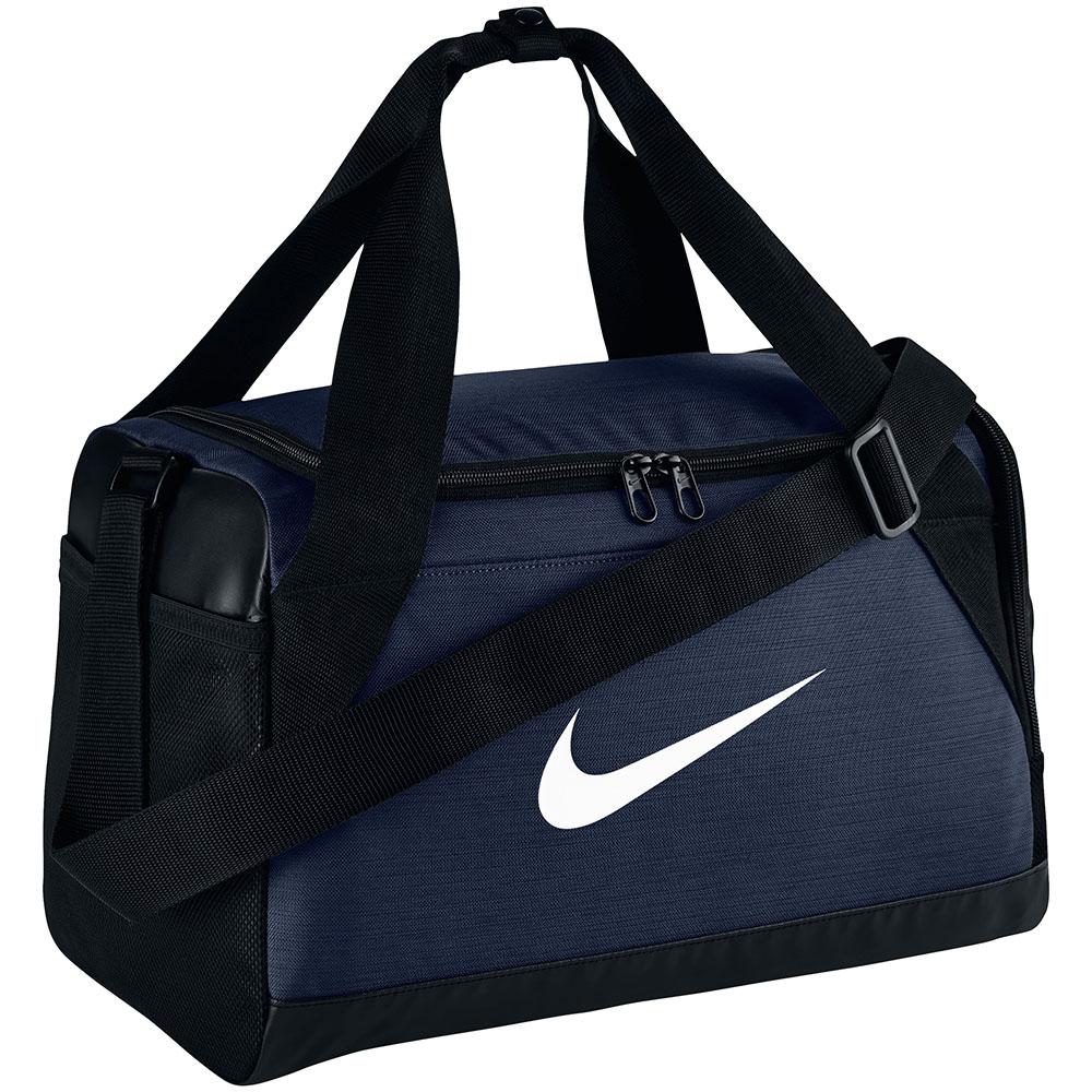 Bolsa Nike Brasilia Duffel Bag | Azul Escuro-Preto-Branco