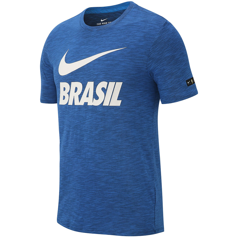 Imagem - Camiseta Nike Dry CBF Brasil Concentração 2018