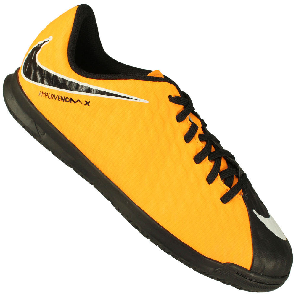 Imagem - Chuteira Futsal Nike Hypervenom Phade III Ic Juvenil