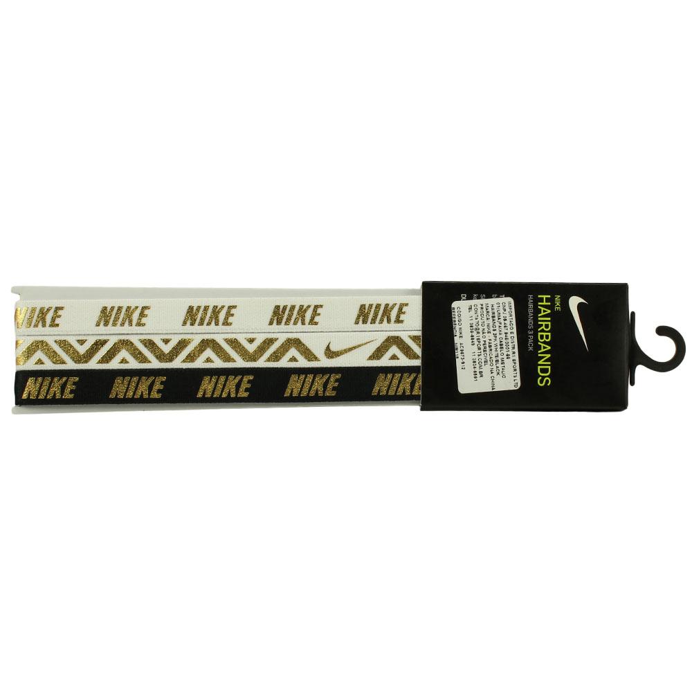 Imagem - Kit 3 Faixas Nike Hairbands Pack