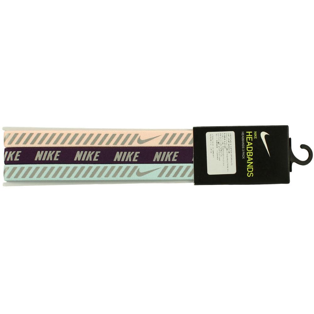 Imagem - Kit 3 Faixas Nike Hazard Stripe Headbands