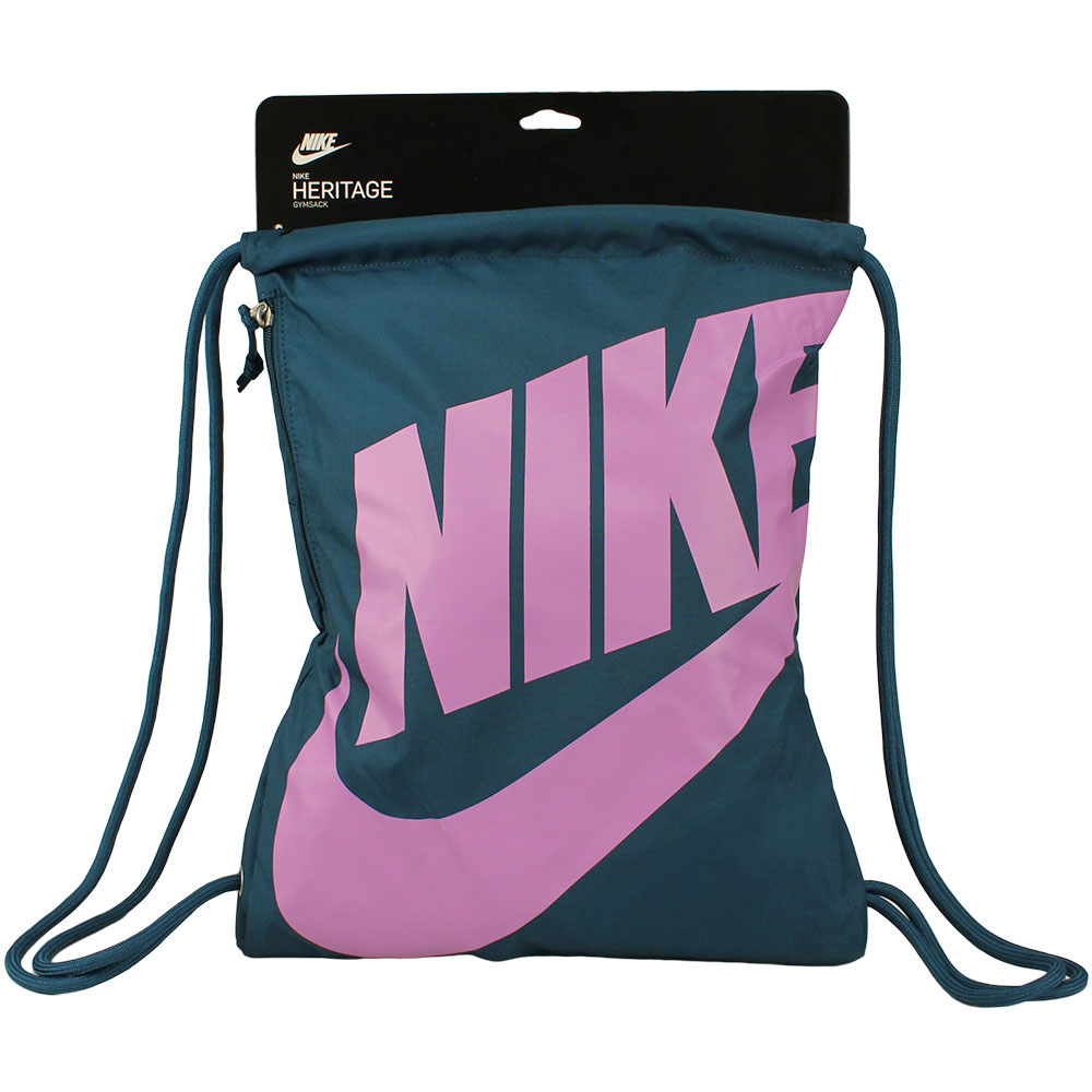 Sacola Nike Heritage Gymsack | Petróleo-Lilás