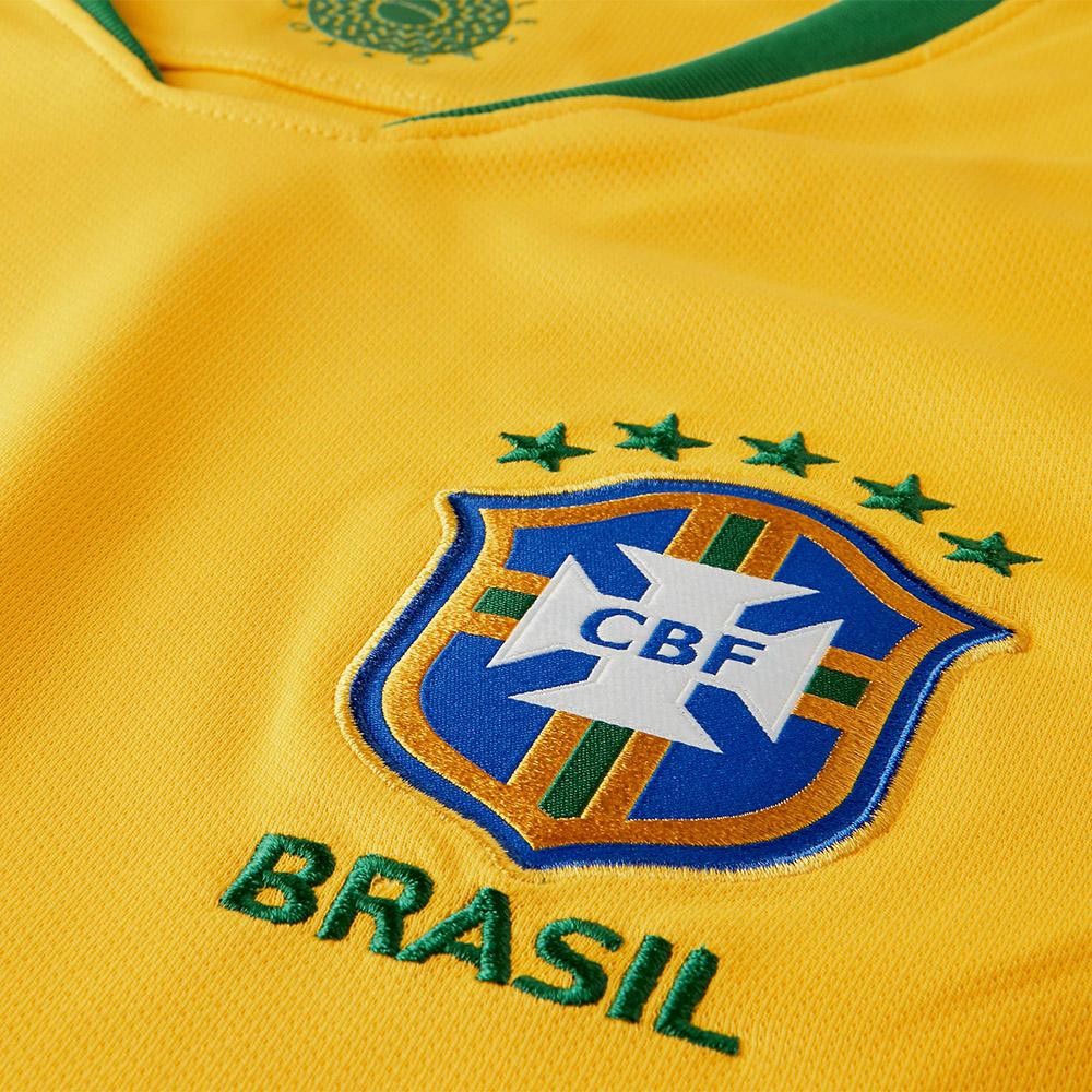 Camisa Nike CBF Seleção Brasil I 2018/19 Torcedor 6